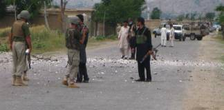 Tehsildar among four injured in bomb explosion in Bajaur