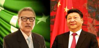 Pakistan to further strengthen partnership with China: President Alvi