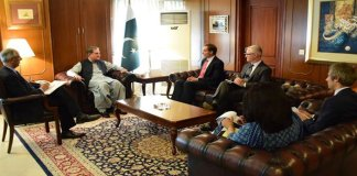 Pakistan, US discusses regional security situation, bilateral relations