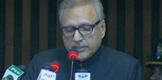 President Alvi phones families of army personnel martyred at LOC