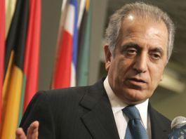 US special representative Zalmay Khalilzad