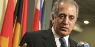 US envoy Zalmay Khalilzad to visit Islamabad today