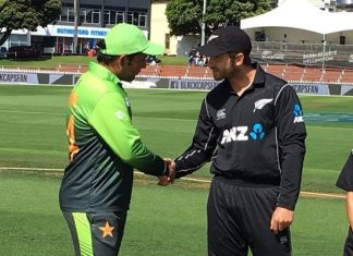 New Zealand win toss, elect to bat against Pakistan in 2nd ODI