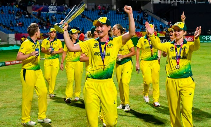 Australia crush England in Women World T20 final