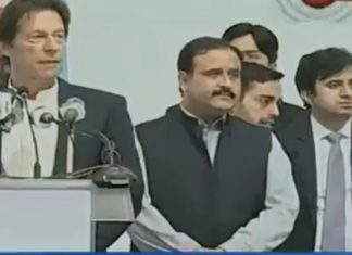 PM Imran lays foundation stone of shelter home in Lahore