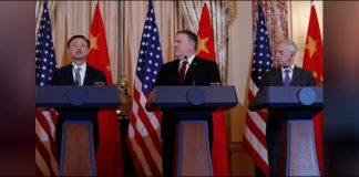 US presses China to halt militarization of South China Sea