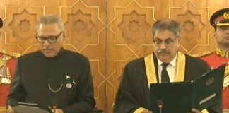 Justice Athar Minallah sworn in as new IHC chief justice