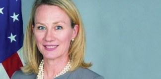 US envoy Alice Wells arrives in Pakistan for boosting bilateral ties