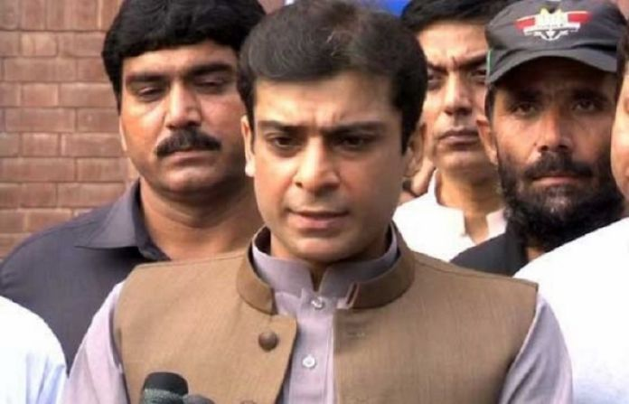 Hamza Shehbaz's physical remand extended by 14 days in assets case
