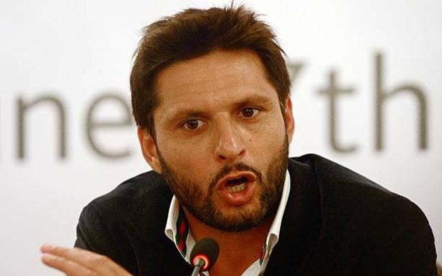 Controversial statement on Kashmir lands Afridi in hot waters