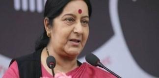 Pakistan permits Sushma Swaraj's overflight on India's request