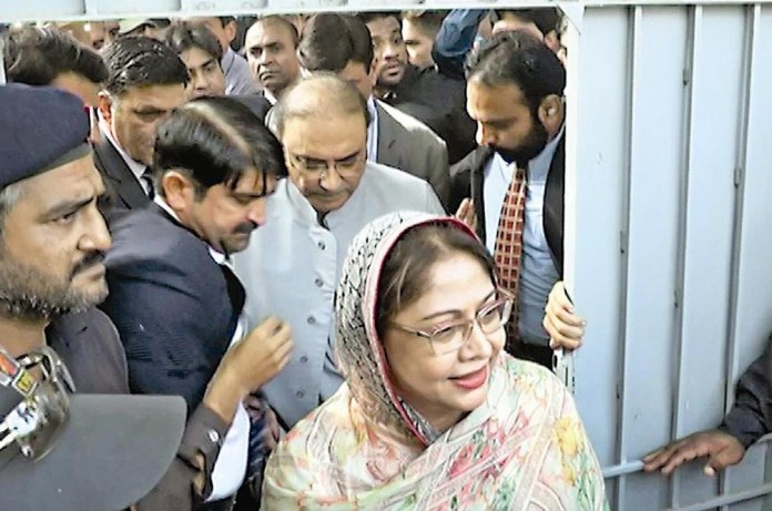 Money Laundering case: Zardari, Talpur's judicial remand extended till Sept 19