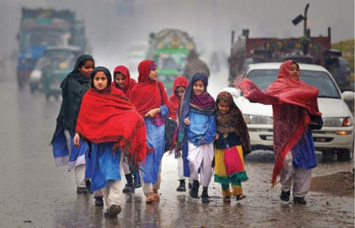 Met office forecasts more rain in KP, tribal districts