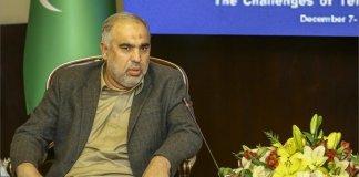 Pakistan will always stand by Iran's side: Asad Qaisar