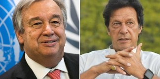 PM asks UN chief to take notice of HR violations in Occupied Kashmir