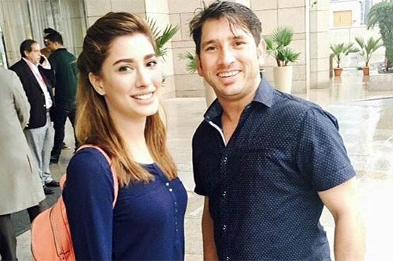 Mehwish applauds Yasir Shah on record-breaking performance