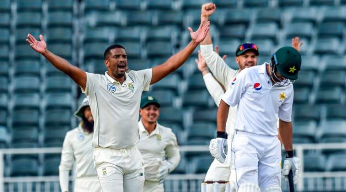 South Africa beat Pakistan by 107 runs, clean sweep Test series