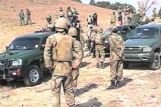 Three terrorists killed during forces operation in South Waziristan
