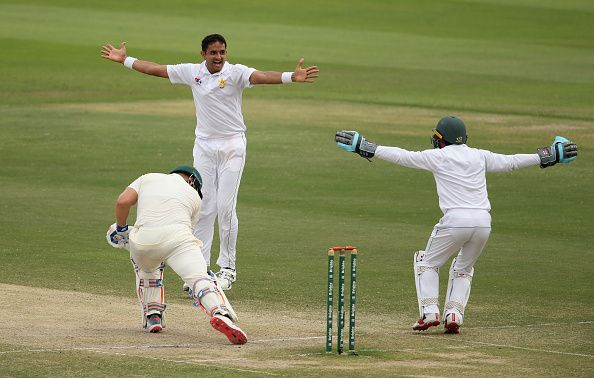 South Africa 188-4, in reply to Pakistan's 177 all out