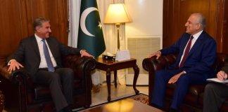 US envoy Khalilzad, FM Qureshi discuss Afghan reconciliation process
