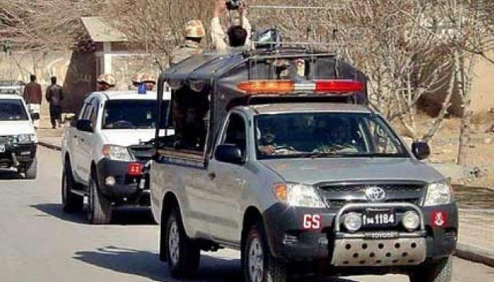 Four terrorists killed as security forces foil attack on FC centre in Loralai