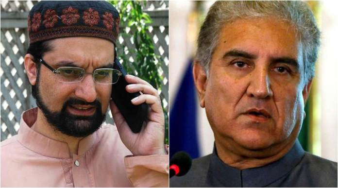 Pakistan rejects Indian objections to FM Qureshi's call to Mirwaiz