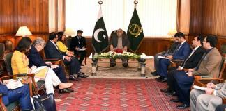 NA Speaker, British delegation discuss grave HR situation in Occupied Kashmir