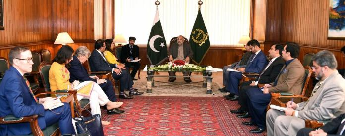 NA Speaker, British delegation discuss grave HR situation in Occupied Kashmir