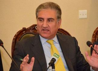 FM Qureshi asks US for 'responsible' troops withdrawal from Afghanistan