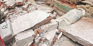 Two children killed as school wall collapses in Nowshera