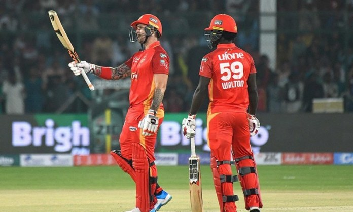 PSL-4: Islamabad United qualifies for play-off after beating Lahore Qalandars