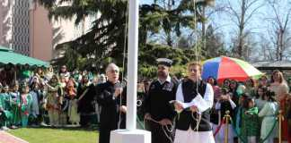 Flag hoisting ceremony held at Pakistan Embassy in China