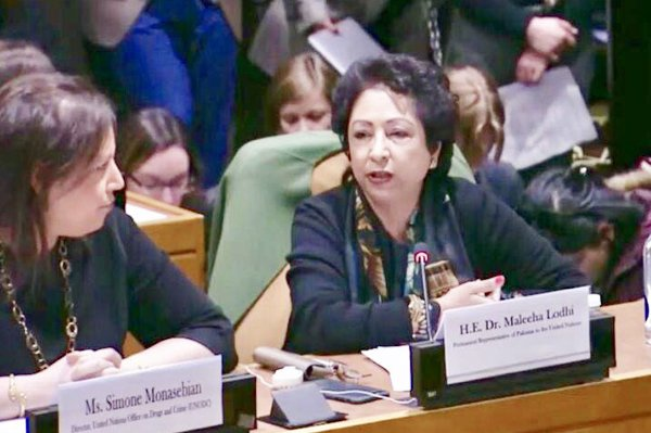 Pakistan turned back terrorist tide with exemplary courage: Maleeha