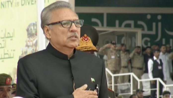 Pakistan believes in peaceful co-existence: President Arif Alvi