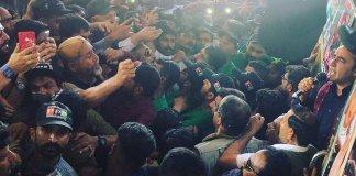 Bilawal-led PPP train march against govt kicks off from Karachi