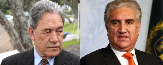 New Zealand FM condoles with Qureshi over martyrdom of nine Pakistanis