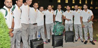 Pakistan team depart for ODI series, World Cup in England