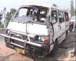 Three killed in coach-van collision in Hub