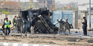 Four killed in attack on US convoy in Afghanistan