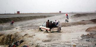 Flash flood kills four in Pishin, Balochistan