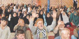Hazara community continues sit-in against Quetta blast