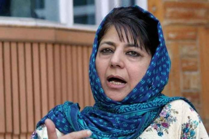 Modi plotting another attack against Pakistan: Mehbooba Mufti
