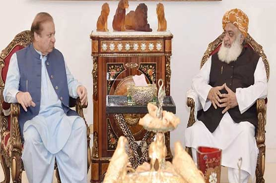 Nawaz Sharif, Maulana Fazlur Rehman discuss political situation