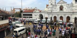 160 people killed, 400 injured in terror attacks in Sri Lanka