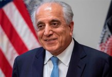 US envoy Zalmay Khalilzad optimistic about Afghan peace talks