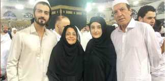 Javed Sheikh performs Umrah with family