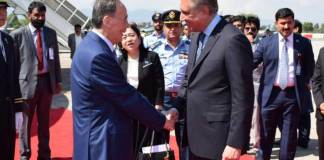 Chinese Vice President Wang Qishan arrives in Islamabad