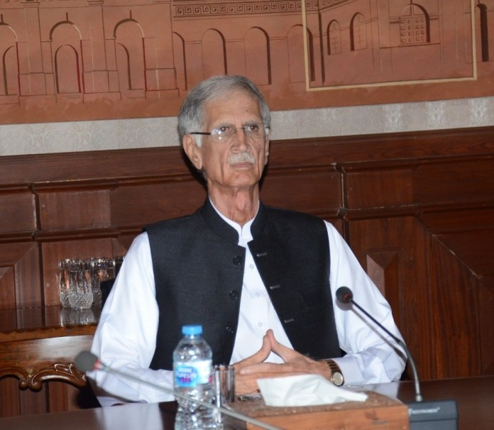 No one will be allowed to do politics on tribal districts' issues: Khattak