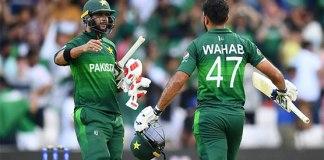 Pakistan beat Afghanistan in nail-biter, keep World Cup semi-final