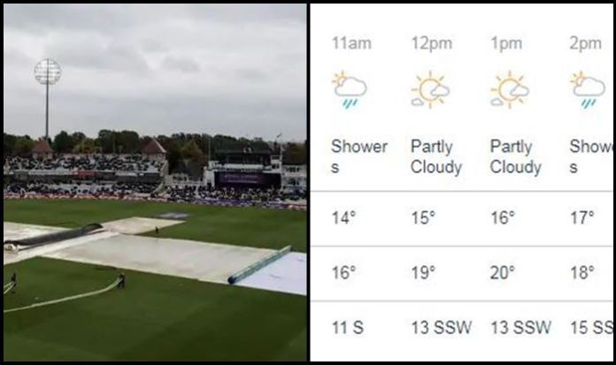 Light chances of rain during Pakistan, India match at Manchester